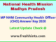 Madhya Pradesh Community Health Officer Answer Sheet 2020