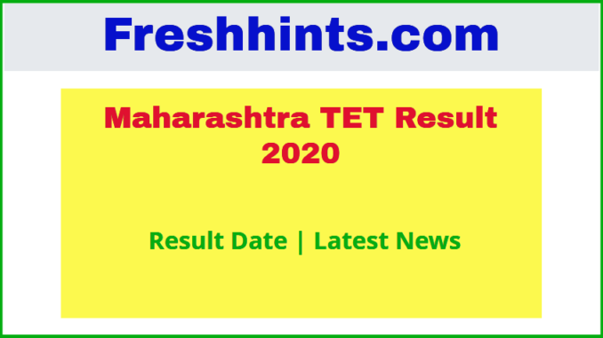 Maharashtra TET Result 2020