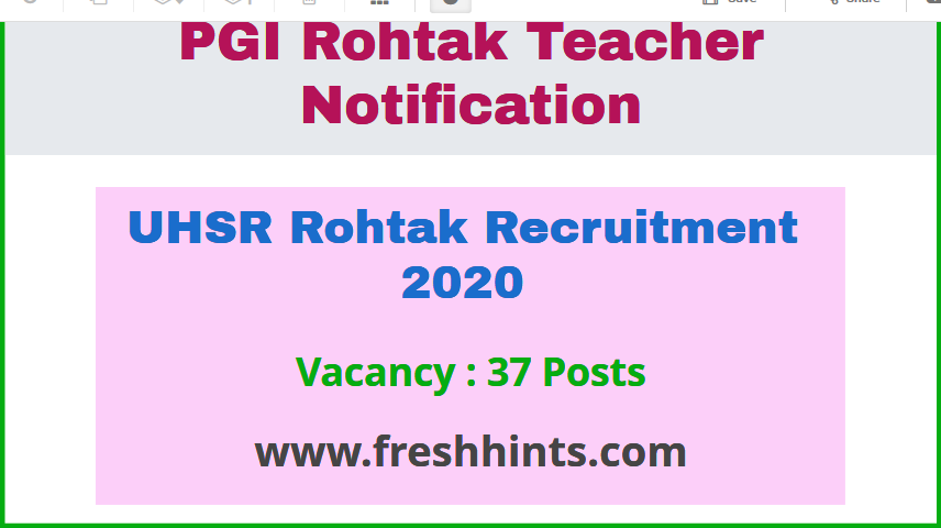 UHSR Recruitment 2020 (2)
