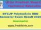 BTEUP Polytechnic ODD Semester Exam Result 2020