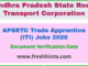APSRTC Recruitment 2020