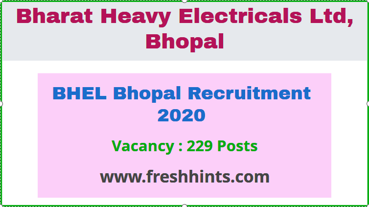 BHEL Recruitment 2020