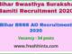 BSSS AO Recruitment 2020