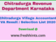 Chitradurga Village Accountant Result 2020