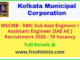 MSCWB - KMC Sub Assistant Engineer Recruitment 2020
