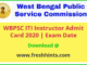 WB PSC ITI Instructor Admit Card 2020
