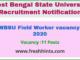 WBSU Field Worker vacancy