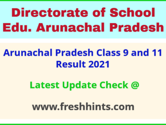 DSEAP 9th 11th Exam Results 2021