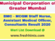 MCGM Staff Nurse Result 2020