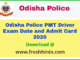 Odisha Police PMT Driver Admit Card 2020