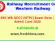 Western Railway GDCE NTPC Admit Card 2020