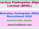 Bharatiya Pashupalan BPNL Recruitment 2020