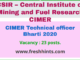 CIMER Technical officer Bharti 2020