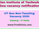 IIT Goa Non-Teaching Vacancy 2020