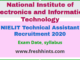NIELIT Technical Assistant A Recruitment 2020