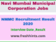 NMMC Recruitment Result 2020
