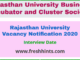 Rajasthan University Vacancy Notification 2020