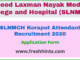 SLNMCH Koraput Attendant Recruitment 2020