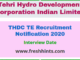 THDC TE Recruitment Notification
