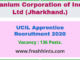 UCIL Apprentice Recruitment 2020