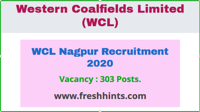 WCL Nagpur Recruitment 2020