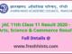 Jharkhand Board Class 11 Result 2020