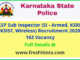 Karnataka State Police SI Recruitment 2020