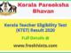Kerala TET Results 2020