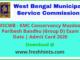 Kolkata Municipal Corporation Mazdoor Paribesh Bandhu Admit Card 2020