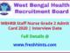 WB Health Staff Nurse Admit Card 2020
