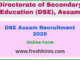 DSE Assam Recruitment 2020