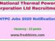 NTPC Jobs 2020 Notification
