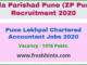 Pune Lekhpal Chartered Accountant Jobs 2020