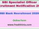 SBI Bank Recruitment 2020