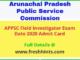 Arunachal Pradesh Field Investigator Admit Card