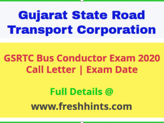 GSRTC Bus Conductor Call Letter
