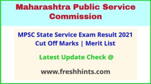 Maharashtra Rajya Seva Pariksha Results Selection List 2021