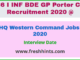 HQ Western Command Jobs 2020