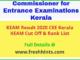 CEE Kerala KEAM Result