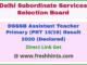 Delhi PRT 1519 Results 2020