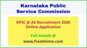 KPSC PWD Recruitment