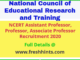 NCERT Assistant Professor Recruitment