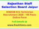 Rajasthan ECG Technician Recruitment