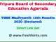 Tripura Board Class 10 Result 2020