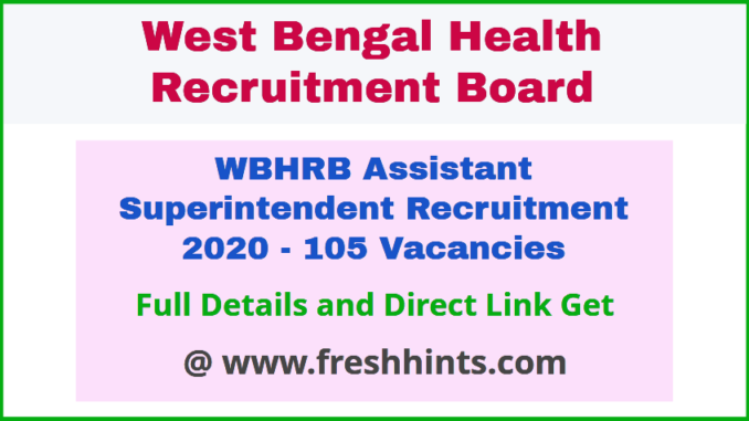 WB Health Assistant Superintendent Notification 2020