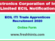 ECIL ITI Trade Apprentices Recruitment 2020