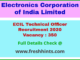 Technical Officer Vacancy 2020 In Ecil