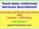 Tamil Nadu Jail Warder Recruitment 2020