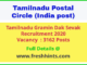 Tamilnadu Gramin Dak Sevak Recruitment 2020