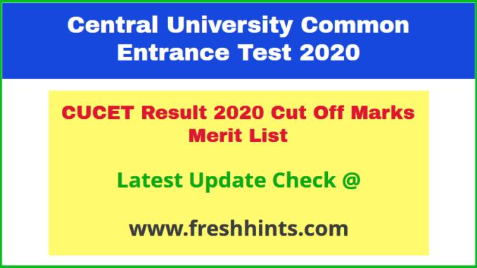 CURAJ Rajasthan CUCET UP PG Results 2020